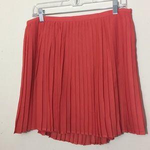 {Gap} 🆕 Pleated Skirt Half Side Zip